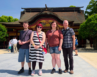 Students travel to Japan with Dr. Paul Wallace